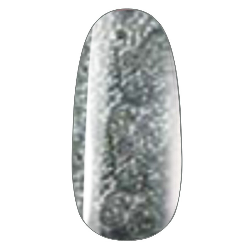 gel 105  vernis semi-permanent  Gel Lac silver glitter, 7ml