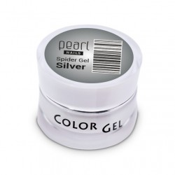 Spider Gel Silver, 5 ml, nailart, décoration, ongles, nails, manucure