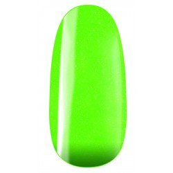 vernis semi-permanent, gel lac 7ml FL33, vert pailleté neon, Pearl Nails, manucure, ongles