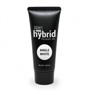 Hybrid PolyAcryl Gel, angel white 50 ml, gel UV, ongles, manucure