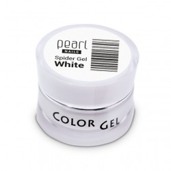 Spider Gel White, 5 ml, nailart, décoration, ongles, nails, manucure