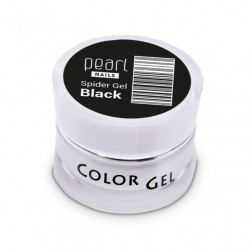Spider Gel Black, 5 ml, nailart, décoration, ongles, nails, manucure
