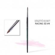Pinceau Nailart Racing 3D n° 4