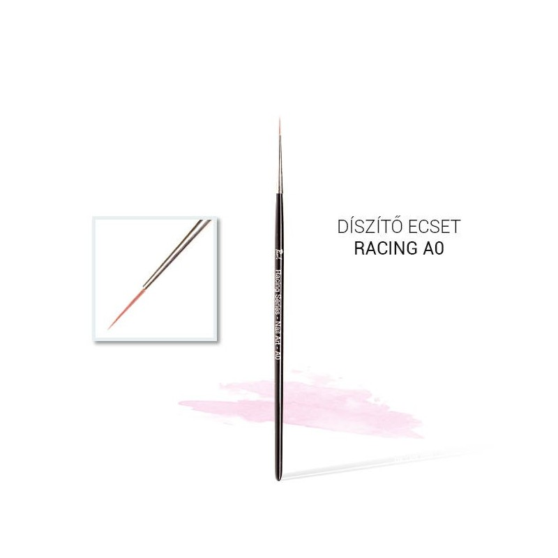 Pinceau Nailart Racing A0 n° 0