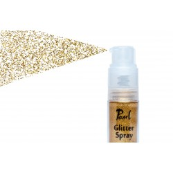 glitter spray light gold 9gr