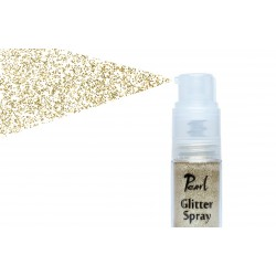 glitter spray pale gold 9gr
