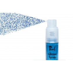 glitter spray deep blue 9gr