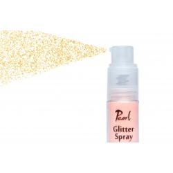 glitter spray light orange...