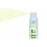 glitter spray vivid green...