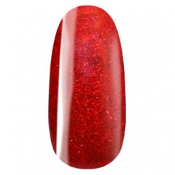 vernis semi-permanent, gel lac 7ml n°325 rouge mére noel, Pearl Nails, manucure, ongles