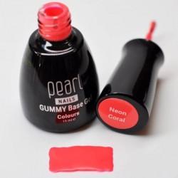 Gummy base Neon coral 15ml