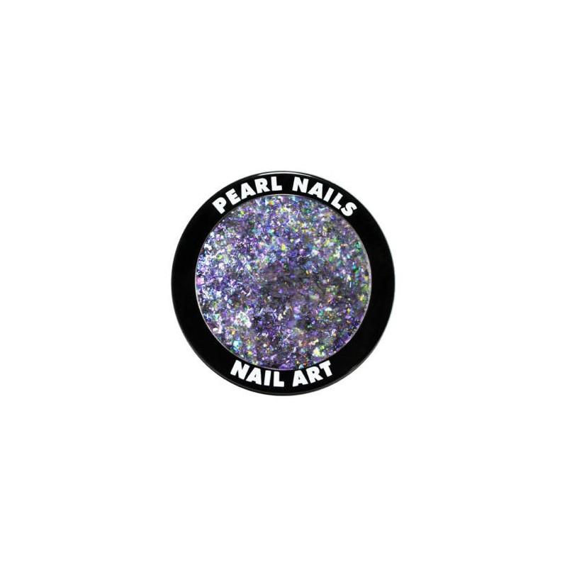 Galaxy metal flakes Purple 0.5gr