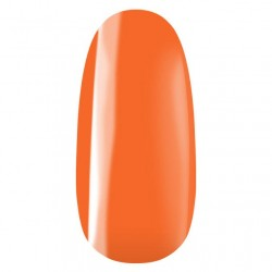 vernis semi-permanent, gel lac 7ml n°332, Orange automne, Pearl Nails, manucure, ongles