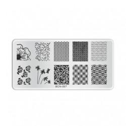Plaque de stamping B007