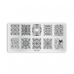 Plaque de stamping B008