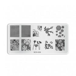 Plaque de stamping B009