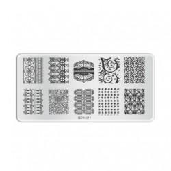 Plaque de stamping B011