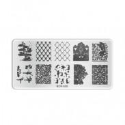 Plaque de stamping B026