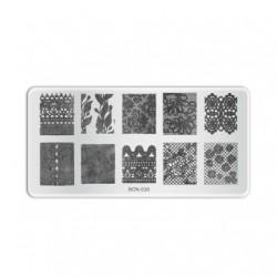 Plaque de stamping B030