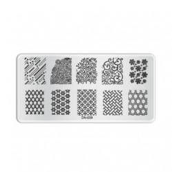 Plaque de stamping D009
