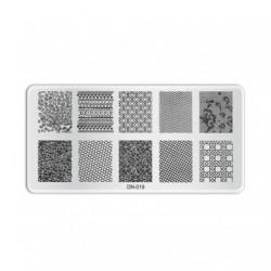 Plaque de stamping D019