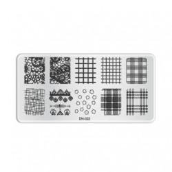 Plaque de stamping D022