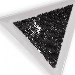 Perle de décoration noir