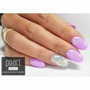 vernis semi-permanent, gel lac 7ml n°375, sweet lavender, Pearl Nails, manucure, ongles