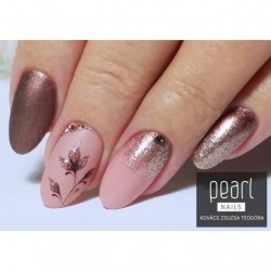 vernis semi-permanent, gel lac 7ml n°396, nude rosé, Pearl Nails, manucure, ongles