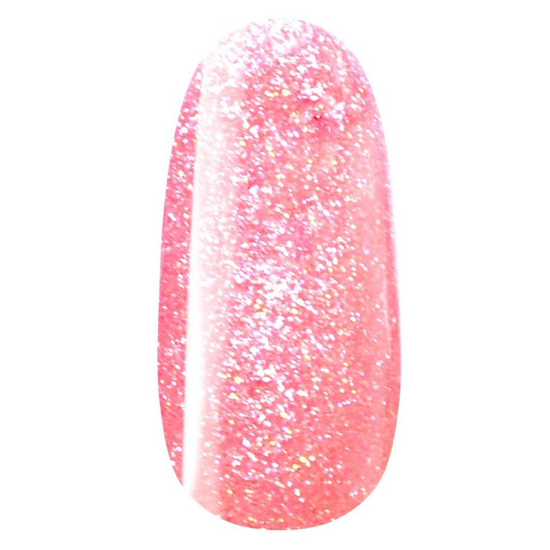 vernis semi-permanent, gel lac 7ml n°503, rose pailleté unicorn, Pearl Nails, manucure, ongles