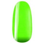 vernis semi-permanent, gel lac 7ml FL33, vert pailleté neon, Pearl Nails, manucure, ongles