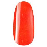 vernis semi-permanent, gel lac 7ml FL35, orange pailleté neon, Pearl Nails, manucure, ongles