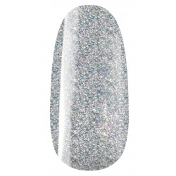vernis semi-permanent, gel lac 7ml n°800, argent holographic glitter, Pearl Nails, manucure, ongles
