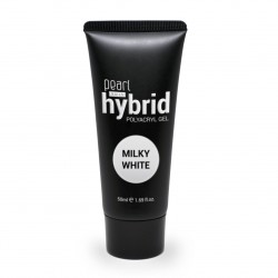 Hybrid PolyAcryl Gel, Milky white 50 ml, gel UV, ongles, manucure